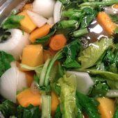 soupe - Les recettes d'Alicia