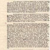 Déclaration de Josef Stuna sur la mort de Desnos