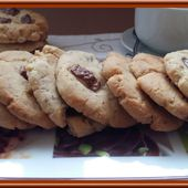 Cookies au Kinder - Oh, la gourmande..