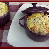 Gratin de pommes de terre aux deux saumons - Oh, la gourmande..