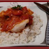 Pavés de saumon et cabillaud façon basquaise - Oh, la gourmande..