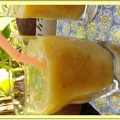 Smoothie mangue eau de coco - Oh, la gourmande..