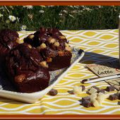 Petits cakes tout chocolat - Oh, la gourmande..