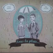 Sous la pluie... Texte de Nancy GUILBERT et illustrations de Lilly SEEWALD (Dès 4 ans) -