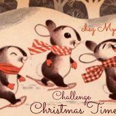 """Challenge """" Christmas Time 2015 """" chez MyaRosa: Recap' et clap de fin."""