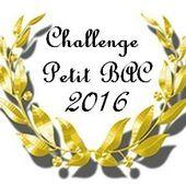 "Challenge ""Petit Bac 2016"" d'Enna!"