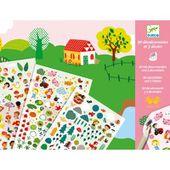 Jouer et découvrir #44 - décalcomanies paysages Djeco (Dès 4 ans)