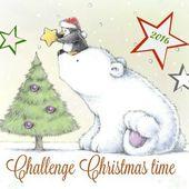 """Challenge """" Christmas Time 2016 """" chez MyaRosa."""