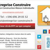 """Pour CONSTRUIRE une MAISON INDIVIDUELLE dans les CARAIBES : suivez la flèche de """"Entreprise Construire"""" - 3D Trade Center"""