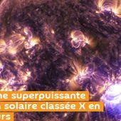 Troisième superpuissante éruption solaire classée X en deux jours.. La force de ce phénomène est 10 fois plus grande que ce à quoi l'on s'attendait. - MOINS de BIENS PLUS de LIENS