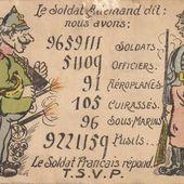 La guerre à l'école - Champagney - 1914-1918