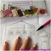"""L'Atelier d'Isabelle : kit """"Atelier de Couture"""""""