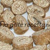 Roulé Galette fromage ail et fines herbes - Mes Meilleures Recettes Faciles