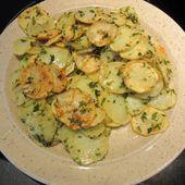 Recette des pommes de terre sarladaise - Mes Meilleures Recettes Faciles