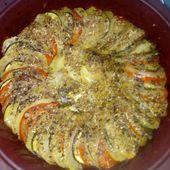 Tian de pommes de terre, tomates, courgettes - Mes Meilleures Recettes Faciles