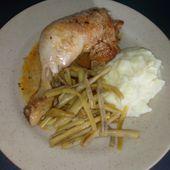 Cuisses de poulet goûteuses au cookéo (sachet maggi) - Mes Meilleures Recettes Faciles