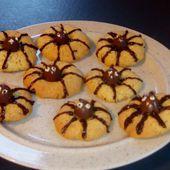Cookies araignées au schokobons (spider cookies) au companion ou pas - Mes Meilleures Recettes Faciles