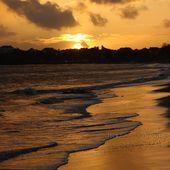 COUCHER DE SOLEIL SUR SAINT NAZAIRE - TROUSSE CADETTE PHOTO