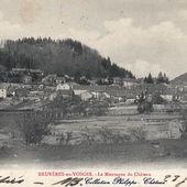 06-Nouvel Album CPA - Château - Bruyères-Vosges