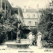 BRUYERES-VOSGES : une carte postale ancienne énigmatique - Bruyères-Vosges