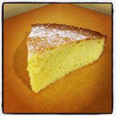 La gâteau aux amandes de Gérard... Un délice ! - Le blog de cuisineetcitations-leblog