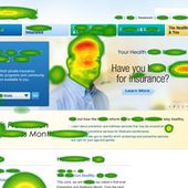Purpose of Eye tracking - Heat maps - webpage - be efficient - OOKAWA Corp.
