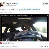 "Be Sociable : Astucieuse Video qui ""touche"" ! Un policier habité par Taylor Swift - OOKAWA Corp."