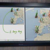 Microsoft Surface Hub : un écran tactile de 84 pouces - OOKAWA Corp.