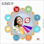 B'360 : L'alliance entre site e-commerce, solution web-to-store et visite virtuelle 360° - OOKAWA Corp.