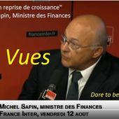 """Rétrospective 2015 - TOP des FLOP : """"La France en pleine reprise de croissance"""" par Michel SAPIN, Ministre Economie et Finances - OOKAWA Corp."""