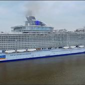 RCCI Royal Caribbean International : 'Harmony Of the seas' leaving to Southampton - OOKAWA Corp.