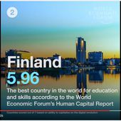 Classement GITR 2016 : Finlande 2ème rang mondial WORLD ECONOMIC FORUM - OOKAWA Corp.