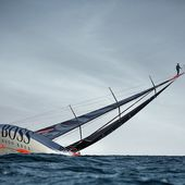 HUGO BOSS : Le Mast Walk par Alex Thomson - OOKAWA Corp.