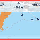 Thomas COVILLE, skippeur de Sodebo passe le Cap Horn ... - OOKAWA Corp.