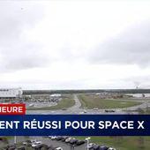SpaceX lancée à nouveau avec succès ce jour : la fusée Falcon 9 est montée, puis le 1er étage du lanceur s'est correctement posé ! - OOKAWA Corp.