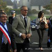 Visite de M. André Vallini à Pers et au Rouget (2)