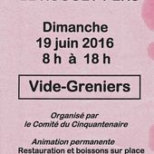 Vide-grenier au Rouget-Pers