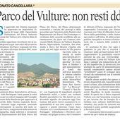 L'istituzione del Parco regionale del Vulture diventi una priorità. - AIL - VAS e Forum SiP per il Vulture Alto Bradano