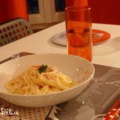 Spaghettis sauce Boursin