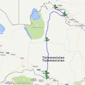 Notre bilan du Turkmenistan - un tour à cinq