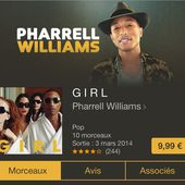 Girl de Pharrell Williams est dispo sur iTunes - Yes I Will