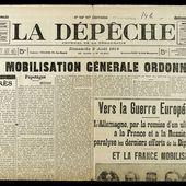 La Grande Guerre à Cazaux - Debat 1ère partie : l'été 1914