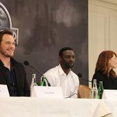 """[info] Conférence de presse pour """"Jurassic World"""" - l'Ecran Miroir"""