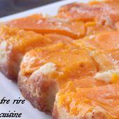 Petit gâteau aux abricots (du matin ou pas !) - Entre rire et cuisine...