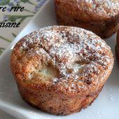 Muffins Nectarines/Noisettes