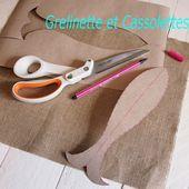 Poisson d'Avril (tuto Couture Anti Mites Naturel avec Fiskars) - Grelinette et Cassolettes