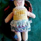 CROCHET : Guénolé la poupée - Creativ-idees, le blog de Casse-bonbec
