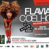 Flavia Coelho Release Party au Divan Du Monde / CHANSON - BIEN LE BONJOUR D'ANDRE