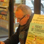 JACQUES FERRANDEZ A LA GALERNE / LE HAVRE / BANDE DESSINEE / LITTERATURE - BIEN LE BONJOUR D'ANDRE