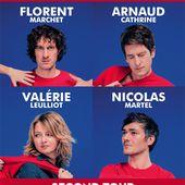 Frère Animal : Second Tour au Trianon (Florent Marchet, Arnaud Cathrine, Valérie Leulliot, Nicolas Martel) / CHANSON MUSIQUE / ACTUALITE - BIEN LE BONJOUR D'ANDRE